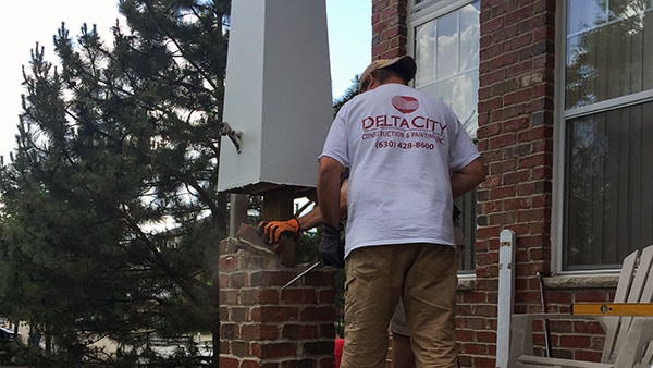 Delta City Construction Masonry Repairs and Reconstruction